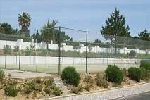 Tennis Court from Apartment window